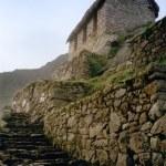 Inka-Stadt Machu Picchu Ruinen peru — Stockfoto
