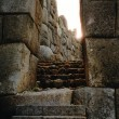 Machu picchu inctemple of sun — Stock Photo #2822364