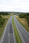 Empty dual carriageway — Stock Photo