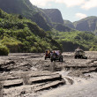 Expedition pinatubo - Stock Photo