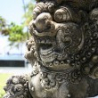 Balinese sculpture — Stock Photo