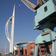 Stock Photo: Portsmouth harbour