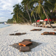 Beach bar boracay — Stock Photo