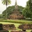 Sukothai historic park - Stock Photo