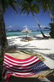 Flag hammock — Stock Photo