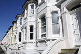 Georgian terrace brighton — Stock Photo