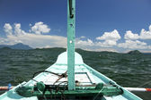 Lake taal banka — Stock Photo