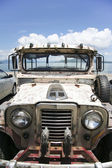 Lake taal jeepney — Stock Photo