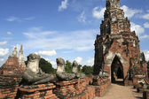 Ancient ayutthaya — Stock Photo