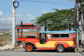 Clark jeepney — Stock Photo