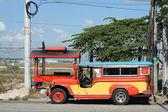 Clark jeepney — Stock Photo