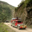 Stock Photo: Mountain jeepney