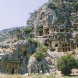 Rock tombs - Stock Photo