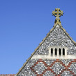 Stock Photo: Old church roof