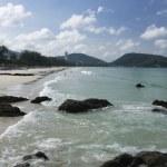 Patong beach — Stock Photo