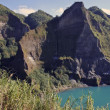 Stock Photo: Pinatubo crater