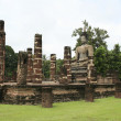 Sukothai ancient buddha - Stockfoto