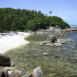 Secluded tropical beach — Stock Photo #2917563
