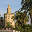 Seville tower — Foto Stock