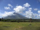 镇长 volcanoe — 图库照片