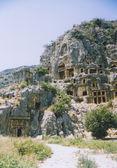 Rock tombs — Stock Photo
