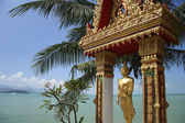 Koh samui buddha — Stock Photo