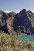 Pinatubo crater — Stock Photo