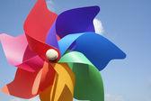 Colorful pinwheel toy — Stock Photo