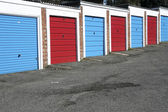 Lock up garages — Stock Photo