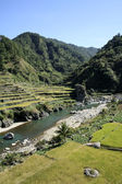 Rice terraces northern philippines — Stock Photo