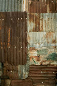 Metal wall — Stock Photo