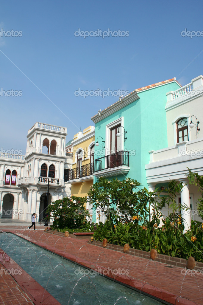 Various viewsof fishermans wharf macau — Stock Photo #2910805