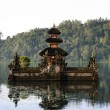 Balinese lake temple - Stockfoto