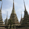 Wat po stupas — Stock Photo