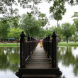 Sukothai bridge - Stockfoto