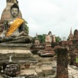 Sukothai ancient buddha — Foto Stock