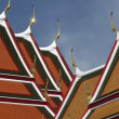 Wat po architecture - Stockfoto