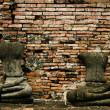 Headless buddhas — Photo
