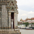 Wat arun and the grand palace - Stockfoto