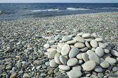 Beach stones — Stock Photo