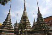Wat po stupas — Stock Photo