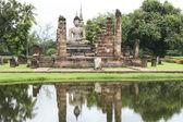 Buddha reflections — Stock Photo
