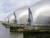 Thames barrier london — Stock Photo