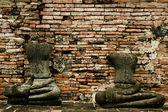 Budas sem cabeça — Foto Stock