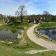 Stock Photo: Berkhamsted castle panorama