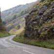 Cheddar gorge road somerset england — Foto Stock #3053352