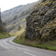 Cheddar gorge road somerset england — Stock Photo #3053352