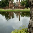 Stockfoto: Seated buddhsukothai thailand