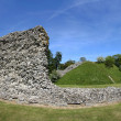 Berkhamsted castle panorama — Stock Photo