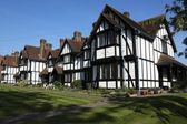 Almshouses cottages tring hertfordshire — Foto Stock